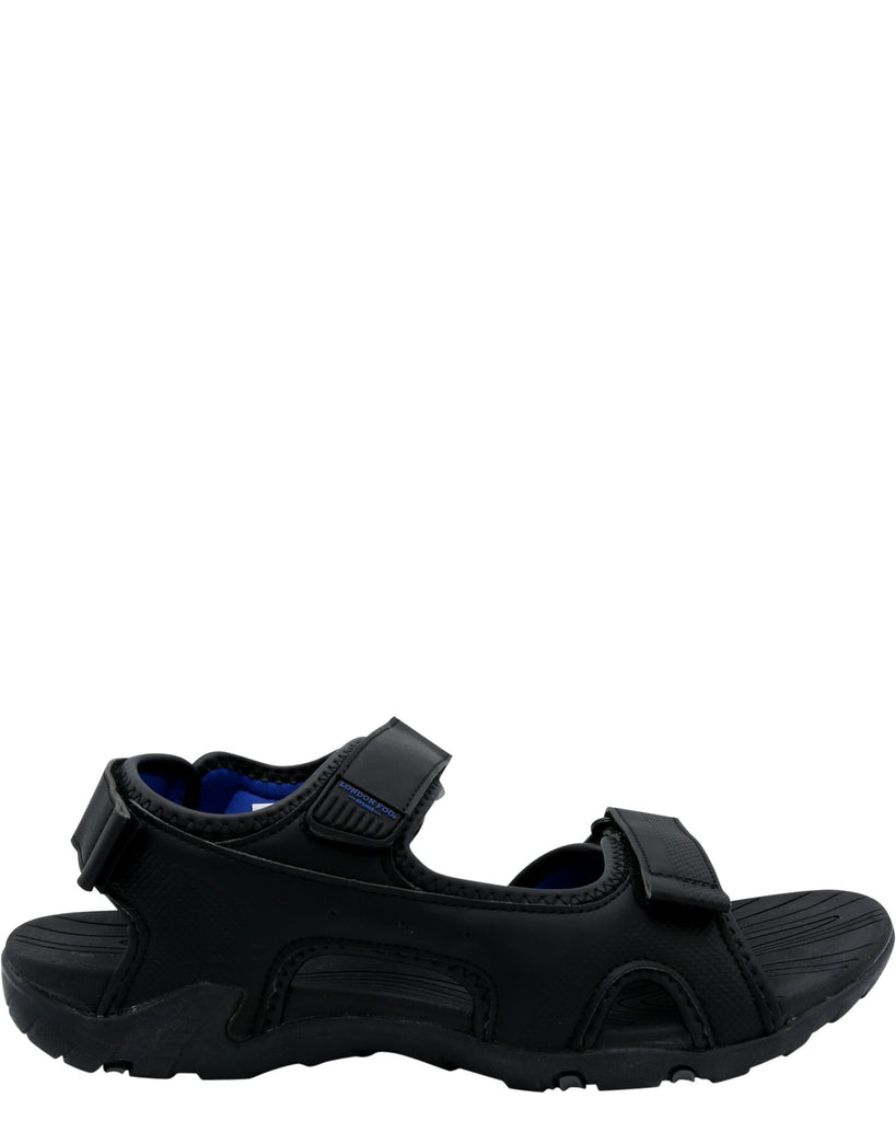 LONDON FOG Men'S Sailor In Sandal - Black - Vim.com