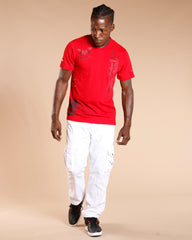 VIM Men'S Front Zipper & Side Button Tee (Available In 2 Colors) - Vim.com