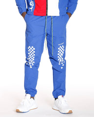 VIM Outcast Checkered Taslon Pant - Royal - Vim.com