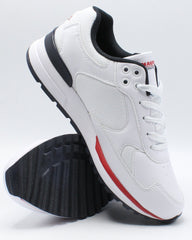 NAUTICA Men'S Del Rio Sneaker - White Navy Red - Vim.com