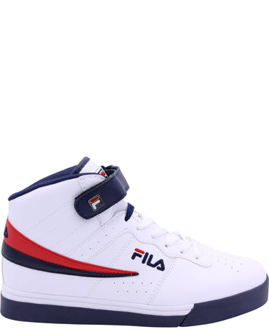 FILA-Men's Vulc 13 Mid Plus - White Navy Red-VIM.COM