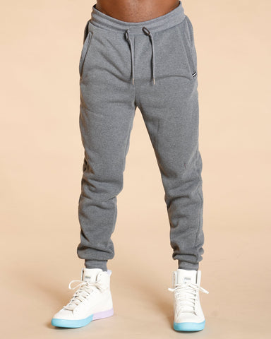 VIM Knitted Fleece Jogger - Charcoal - Vim.com