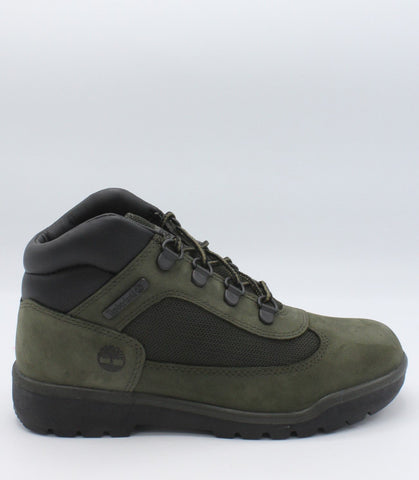 TIMBERLAND-Mid Field Boot (Pre School) - Green-VIM.COM