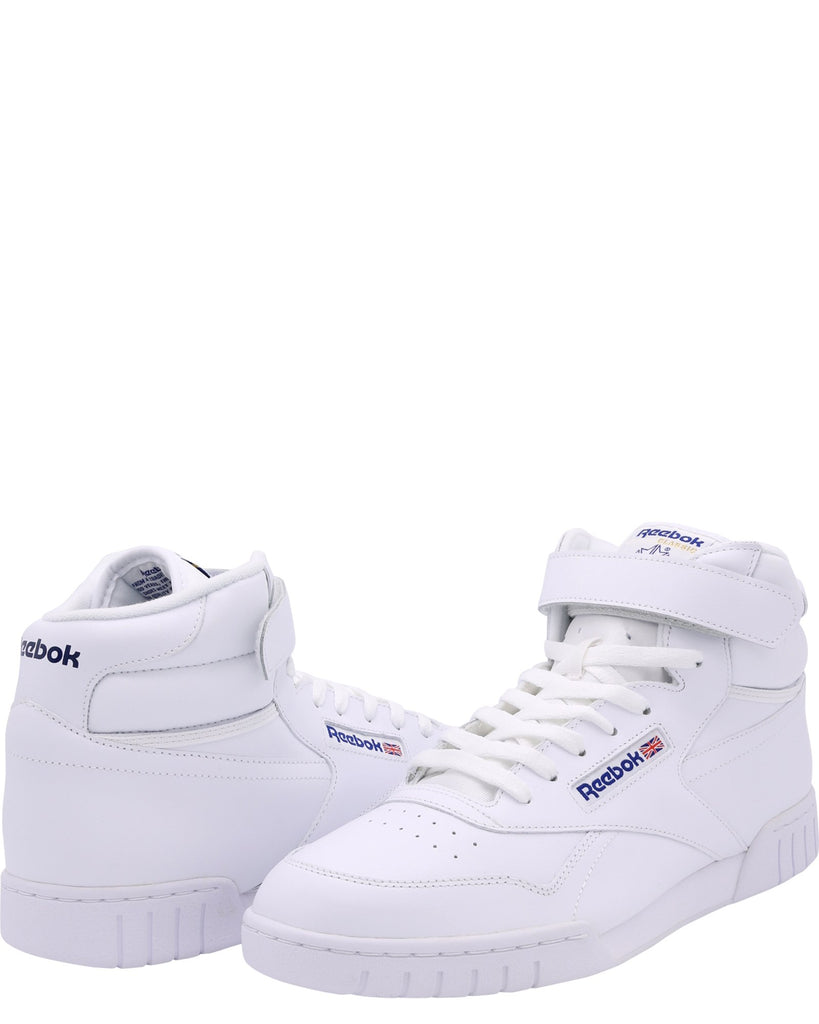 REEBOK Men'S Ex O Fit Hi Sneakers - White - Vim.com