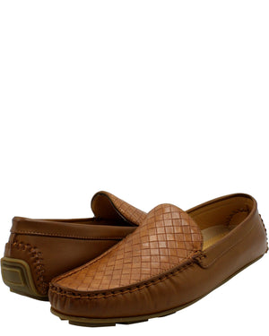 VIM Men'S Driving Weave Shoe - Brown - Vim.com