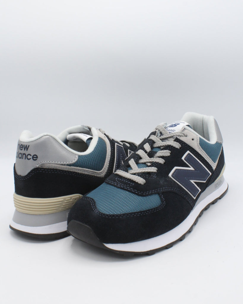 NEW BALANCE Men'S 574 Core Snekaer - Black - Vim.com