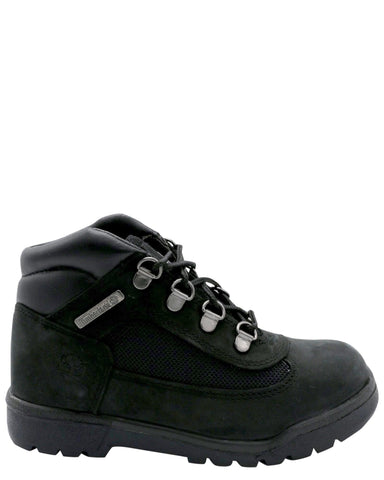 TIMBERLAND-Field Boot (Pre School) - Black-VIM.COM