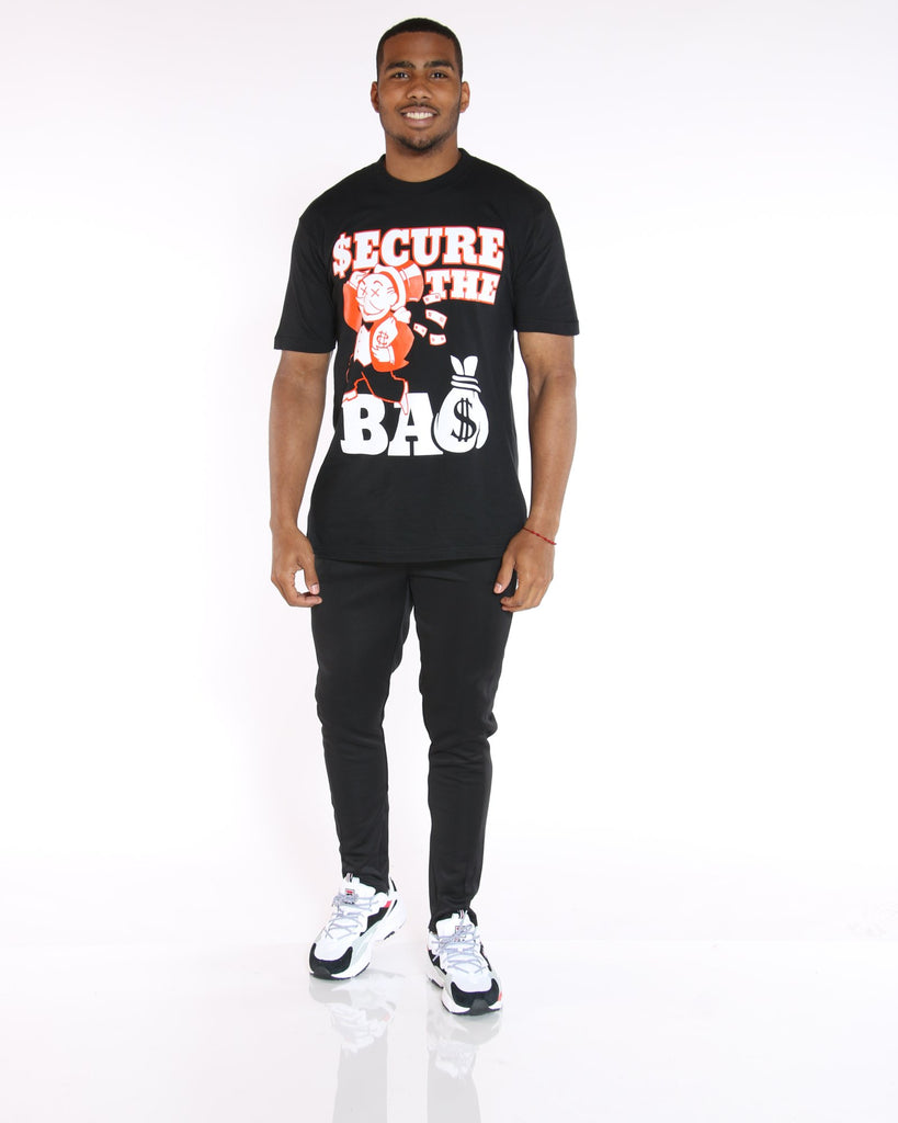 VIM Secure The Bag Printed Tee - Black - Vim.com