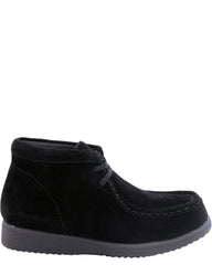 Hush Puppies Boys' Bridgeport Original Suede Boots (Pre School) - Black - Vim.com