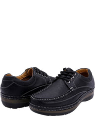 Solo Men'S Lace Up Comfort Shoes - Black - Vim.com