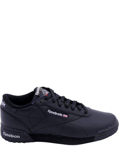 REEBOK-Men's Ex-O-Fit Lo Clean Logo Sneaker - Black-VIM.COM