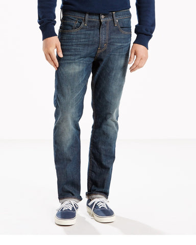LEVI'S-Men's 502 Regular Taper Jean - Blue-VIM.COM