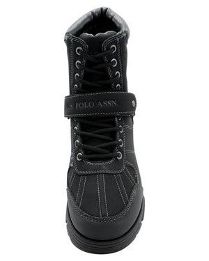 U.S. POLO ASSN. Men'S Connor Strap Boot - Black - Vim.com