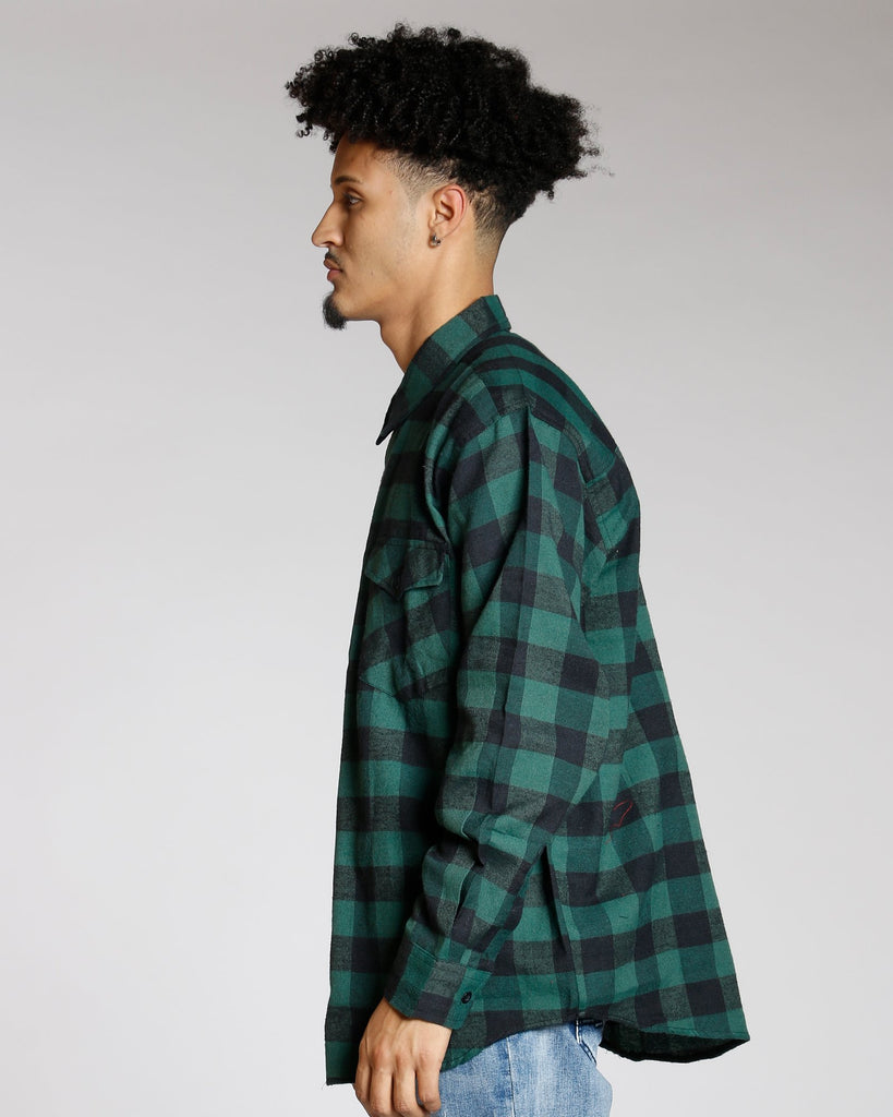 VIM Buffalo Plaid Woven Shirt (Available In 4 Colors) - Vim.com