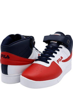 FILA Men'S Vulc 13 Mp Sneaker - White Navy Red - Vim.com