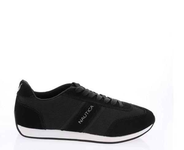 NAUTICA Men'S Boyle Sneakers - Black - Vim.com