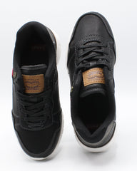 LEVI'S Colby Burnish Sneaker (Pre School) - Black - Vim.com