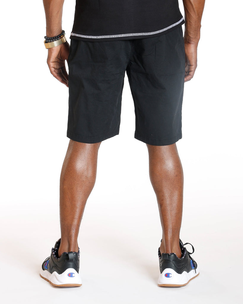 VIM Classic Slash Pocket Twill Short - Black - Vim.com