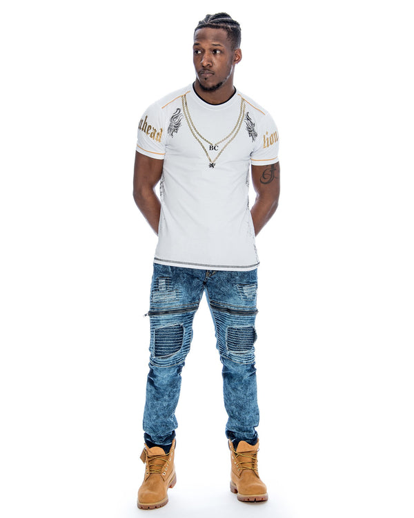 VIM Two Chains T-Shirt - White - Vim.com