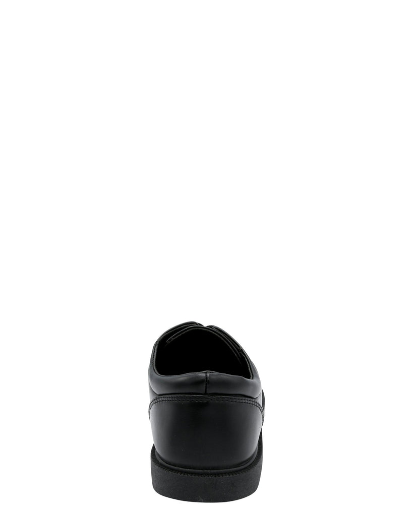 VIM Boy'S Lace Up School Shoe (Grade School) - Black - Vim.com