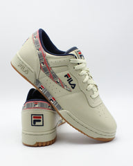FILA Men'S Original Fitness Haze Sneaker - Cream - Vim.com