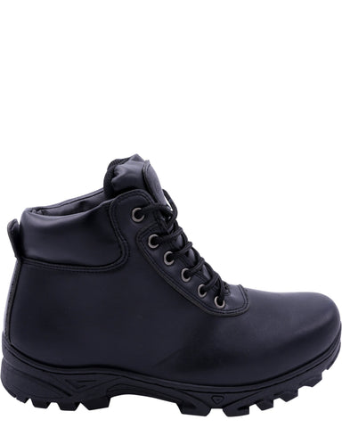 VIM Men'S Mid Cut Hiker Boot - Black - Vim.com
