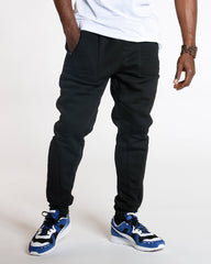VIM Smith Cut & Sow Fleece Jogger - Black - Vim.com