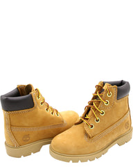 TIMBERLAND 6-Inch Basic Waterproof Boot (Toddler/Pre School) - Wheat Nubuck - Vim.com