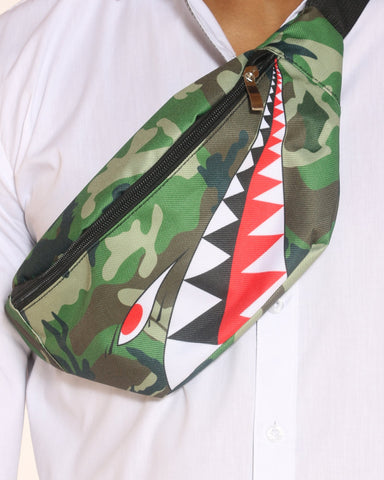 VIM Shark Mouth Fanny Bag - Camo - Vim.com