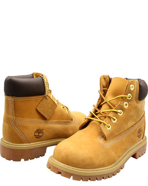TIMBERLAND 6-Inch Waterproof Boots (Pre School) - Wheat - Vim.com