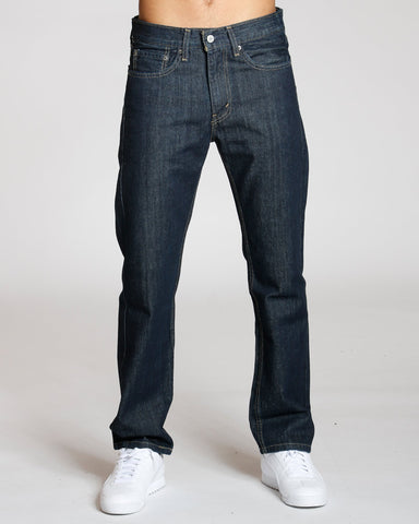 LEVI'S 505 Regular Fit Jeans - Dark Blue - Vim.com