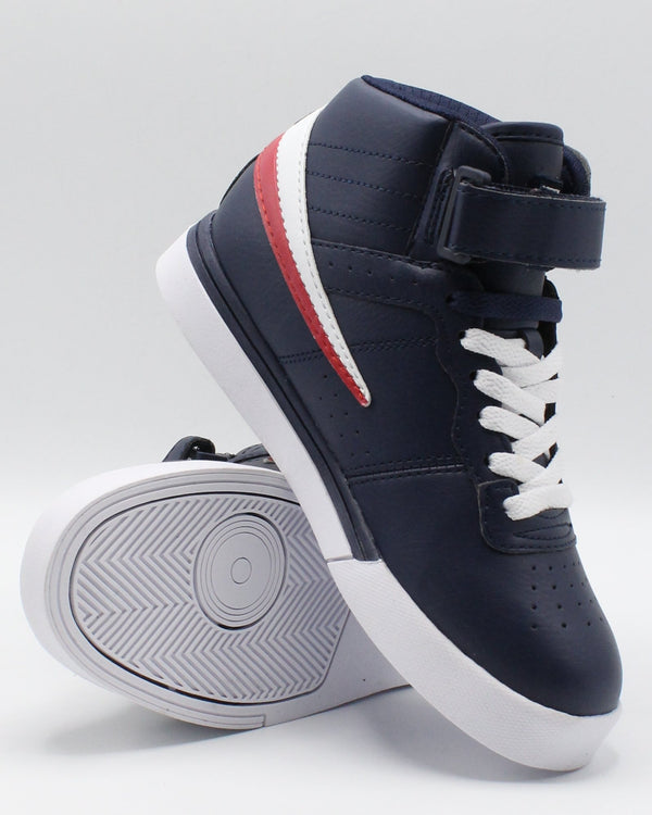 FILA Vulc 13 Mp Sneaker (Pre School) - Navy White Red - Vim.com
