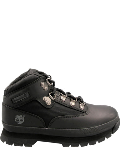 TIMBERLAND-Waterproof Field Hiking Boots (Pre School) - Black-VIM.COM