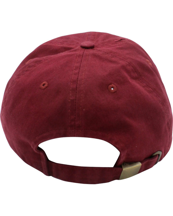 VIM Good Vibes Only Distressed Hat - Burgundy - Vim.com