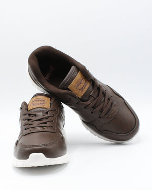 LEVI'S Colby Burnish Sneaker (Pre School) - Brown - Vim.com