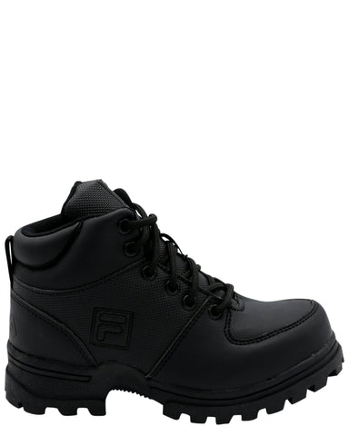 FILA-Boys Ascender 2 Boot (Pre School) - Black-VIM.COM