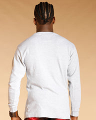 VIM Fitted Thermal Shirt - Heather Grey - Vim.com