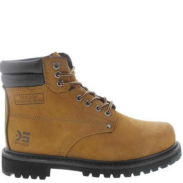 VIM Men'S 6 Inch Water Resistant Ankle Boot - Brown - Vim.com