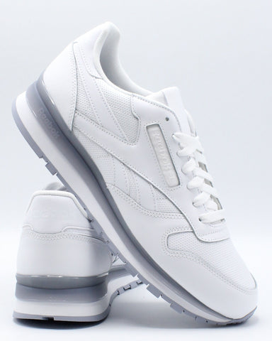REEBOK-Men's Classic Leather Mu Sneaker - White Dust-VIM.COM