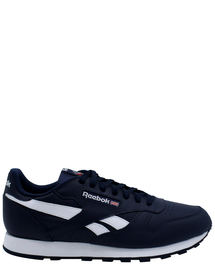 REEBOK Men'S Classic Leather Mu Sneaker - Navy - Vim.com