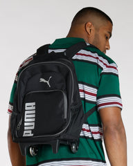 PUMA Puma Wheelie Book Bag - Black - Vim.com