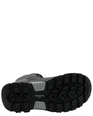 SKECHERS Men'S Burgin - Congaree Mid Boot - Black - Vim.com