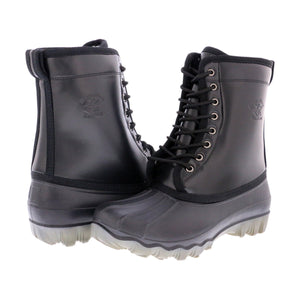 BEVERLY HILLS POLO CLUB Men'S Fur Hi Top Snow Boot - Black - Vim.com