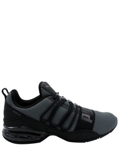 PUMA-Men's Cell Regulate Woven Sneaker - Black-VIM.COM