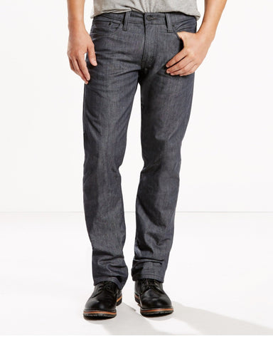 LEVI'S-Men's 514 Slim Straight Jean - Grey-VIM.COM