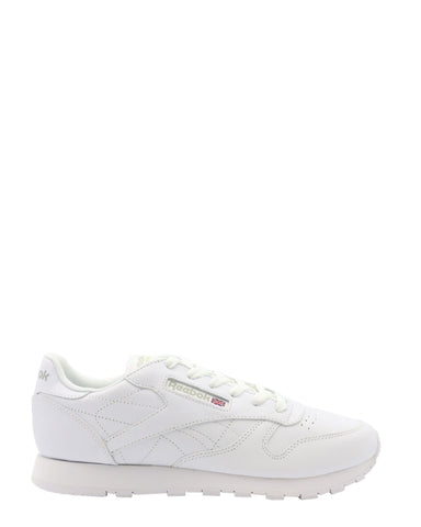 REEBOK-Classic Leather Low Top Sneakers (Pre School) - White-VIM.COM