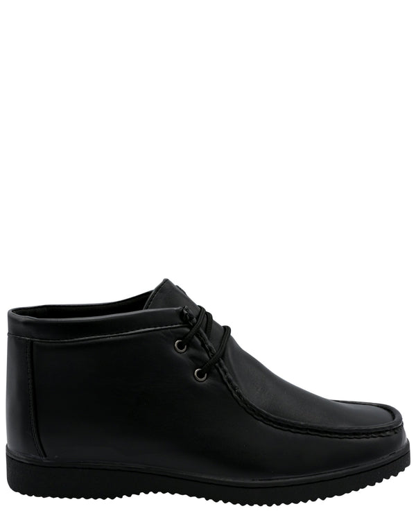 VIM Boy'S Mid Cut Walli Hush Boot (Grade School) - Black - Vim.com