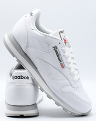REEBOK Men'S Classic Leather Low Sneakers - White - Vim.com