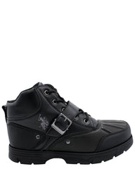 VIM Men'S Redwood Mid Cut Boot - Black - Vim.com
