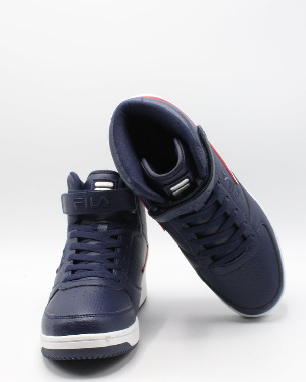 FILA Men'S A-High Top Sneaker - Navy - Vim.com
